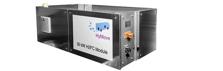 30 kW hydrogen-fuel cell range extender