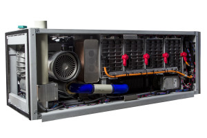 HyMove 30 kW hydrogen-fuel cell range extender