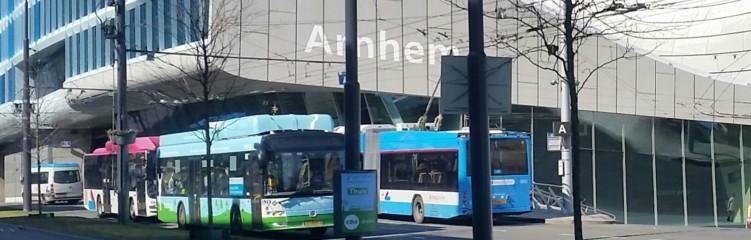Solbus voor Arnhem CS